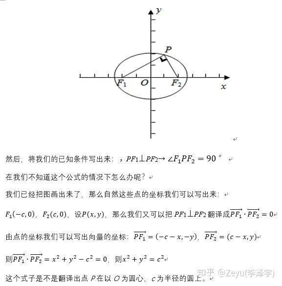 如何学好高中数学-利用椭圆的焦点三角形快速求离心率:过程1